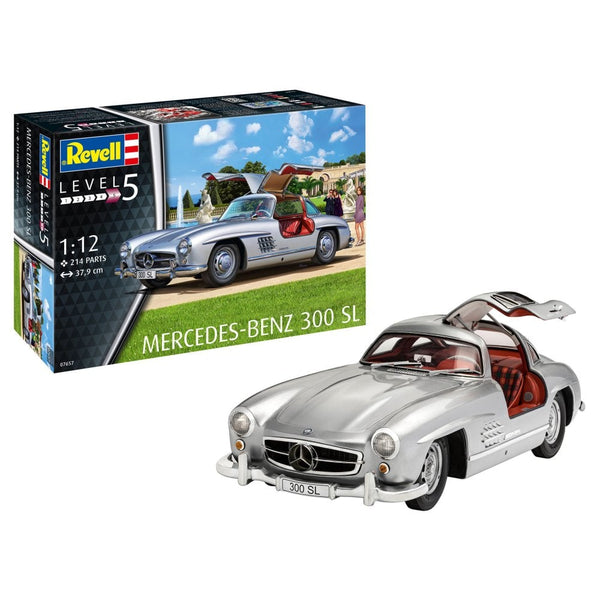 Revell 1:12 07657 Mercedes-Benz 300SL Model Car Kit