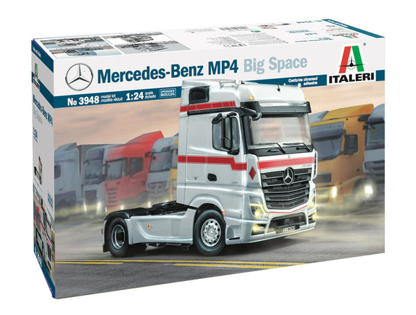 Italeri 1:24 3948 Mercedes-Benz Actros MP4 Bigspace Model Truck Kit