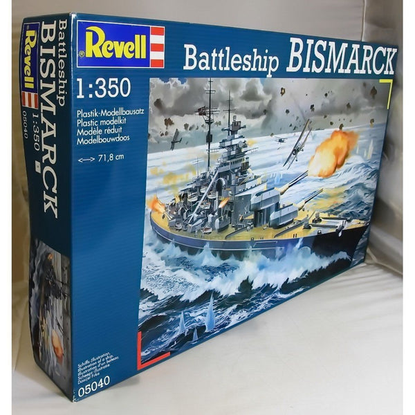 Revell 1:350 05040 Battleship Bismarck Model Ship Kit