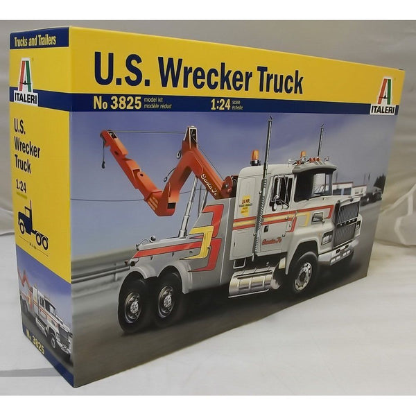 Italeri 1:24 3825 US WRECKER Model Truck Kit