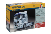 Italeri 1:24 3877 MAN TGX XXL Model Truck Kit