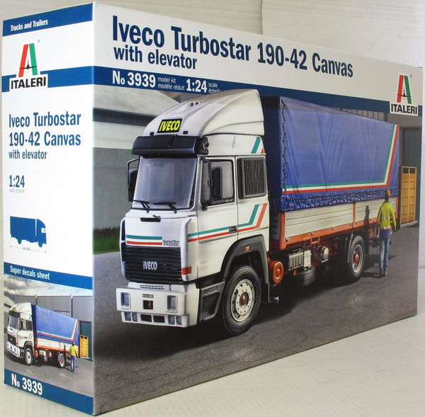 Italeri 1:24 3939 Iveco Turbostar 190.42 Canvas Model Truck Kit