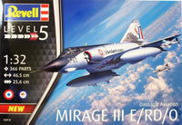 Revell 1:32 03919 Dassault Mirage III E Model Aircraft Kit