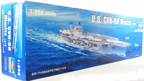Trumpeter 1:350 05605 USS Nimitz CVN-68 Model Ship Kit