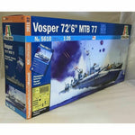 Italeri 1:35 5610 British MTB 77 Vosper Motor Torpedo Boat Model Ship Kit