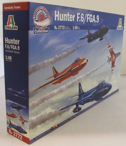 Italeri 1:48 2772 Hawker Hunter F Mk 6/9 Model Aircraft Kit