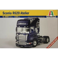 Italeri 1:24 3850 Scania R620 Atelier Model Truck Kit