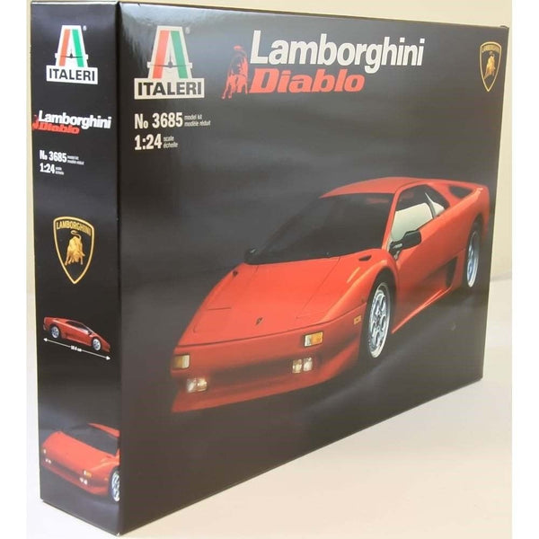 Italeri 1:24 3685 LAMBORGHINI DIABLO Model Car kit