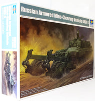 Trumpeter 1:35 09552 Russian Armd Mine-Clearing Vehicle BMR-3 Model Military Kit