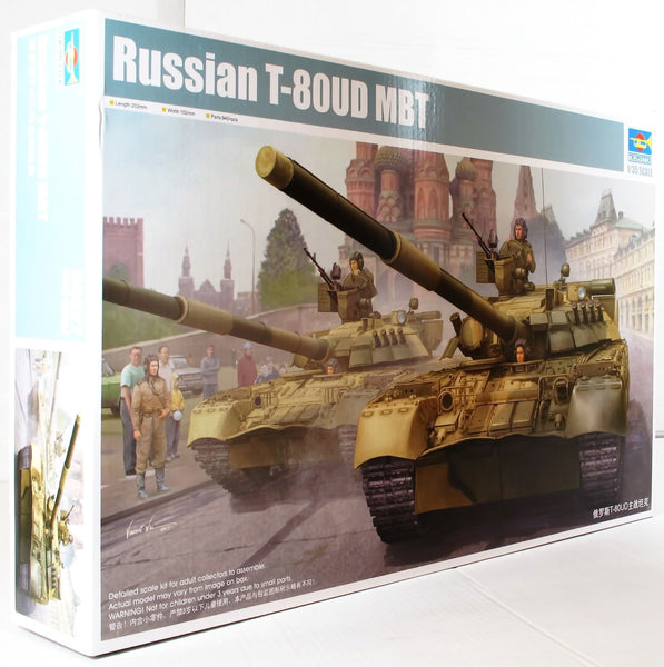 Trumpeter 1:35 09527 Russian T-80UD MBT Military Model Military Kit
