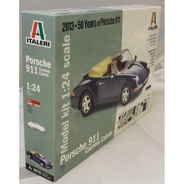 Italeri 1:24 3679 Porsche Carrera Cabrio Model Car kit