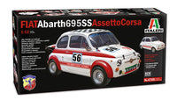 Italeri 1:12 4705 Fiat Arbarth 695 SS Assetto Corsa Model Kit