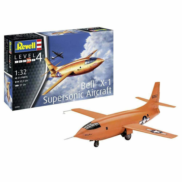 Revell 1:32 03888 Bell X-1 First Supersonic Model Aircraft Kit