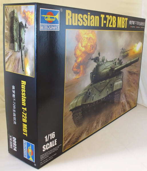 Trumpeter 1:16 00924 Russian T-72B MBT Military Model Kit