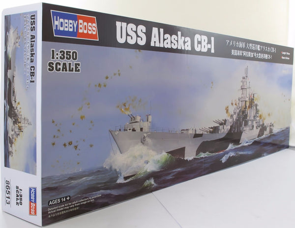 Hobbyboss 1:350 86513 USS Alaska CB-1 Model Ship Kit