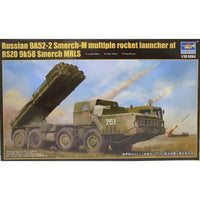TRUMPETER TRU 01020 1:35 - 9K58 Smerch-M on 9A52-2 MRLS Model Military Kit