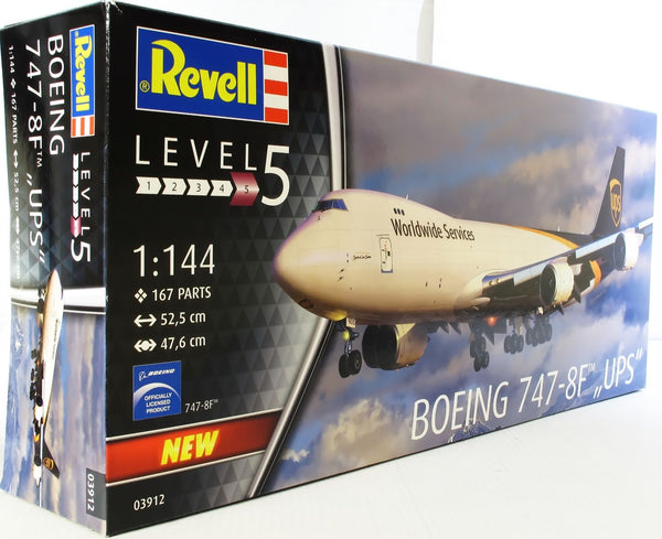 Revell 1:144 03912 Boeing 747-8F UPS Model Aircraft Kit