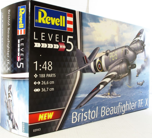 Revell 1:48 03943 Bristol Beaufighter TF. X Model Aircraft Kit