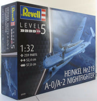 Revell 1:32 03928 Heinkel He219 A-0 Nightfighter Model Aircraft Kit