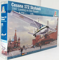 Italeri 1:48 2764 Cessna 172 Skyhawk 1987 Landing Red Square Model Aircraft Kit