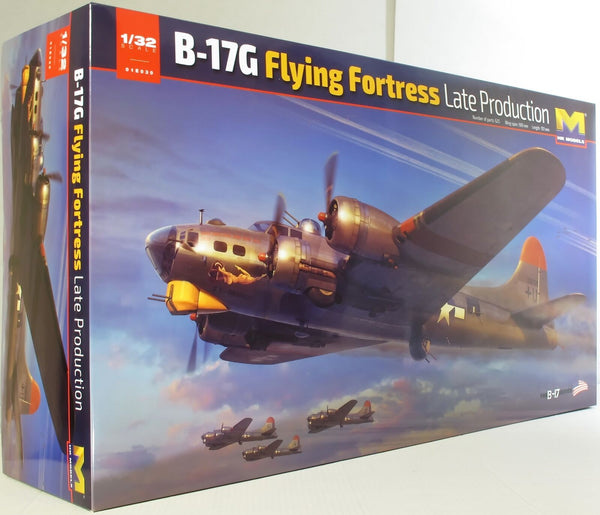 HK Models 1:32 01E30 B-17G Late Production Model Aircraft Kit