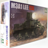 Takom 1:35 02115 M3A1 Lee CDL US Medium Tank Model Military Kit