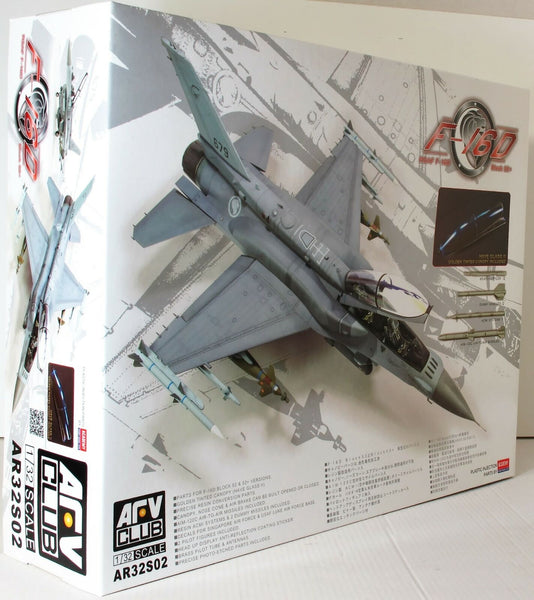 AFV Club 1:32 32S02 F-16D RSAF Block 52/52+ Model Aircraft Kit