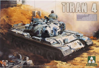 Takom 1:35 02051 Tiran-4 IDF Medium Tank Model Military Kit
