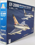Italeri 1:72 1406 EF-2000 Eurofighter 100th Ann Gruppi Caccia Model Aircraft Kit