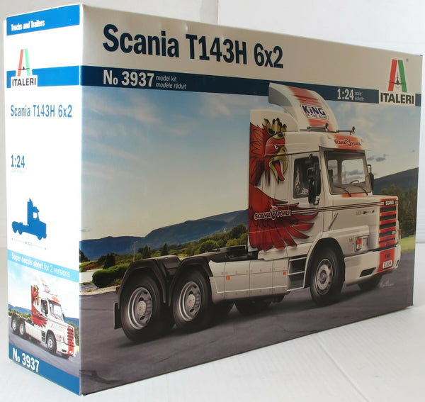 Italeri 1:24 3937 Scania T143H 6x2 Model Truck Kit