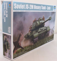 Trumpeter 1:35 05590 Soviet JS-2M Heavy Tank Late Military Model Kit