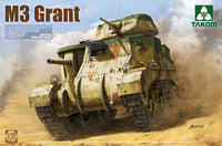 Takom 1:35 02086 M3 Grant British Medium Tank Model Military Kit
