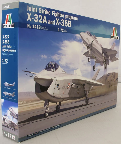 Italeri 1:72 1419 Project JSF X-32 & X-35B Joint Strike Prog Model Aircraft Kit
