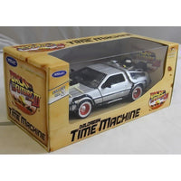 Welly TY4174 Back to the Future 3 Delorean 1:24 Diecast Model Car - Damaged Box