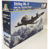 Italeri 1:72 1350 Shorts Stirling Mk.IV Glidertug Para Transporter Aircraft Kit
