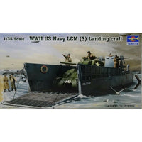 TRUMPETER 1:35 00347 - WWIIUS Navy LCM (3) Landing Craft Plastic Model Kit
