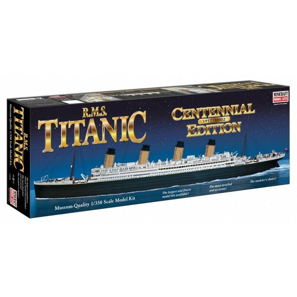 Minicraft 1:350 11318 RMS Titanic Centennial Edition Model Ship Kit