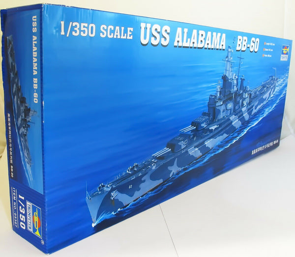 Trumpeter 1:350 05307 - USS Alabama BB60 Plastic Model Ship Kit