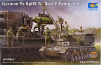 Trumpeter 1:35 00363 PzKpfw IV Ausf F Fahrgestell Military Model Kit