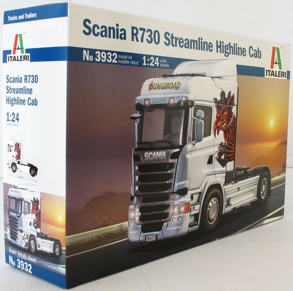 Italeri 1:24 3932 Scania R730 Streamline Highline Cab Model Truck Kit