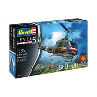 Revell 1:35 04960 Bell UH-1C Model Aircraft Kit