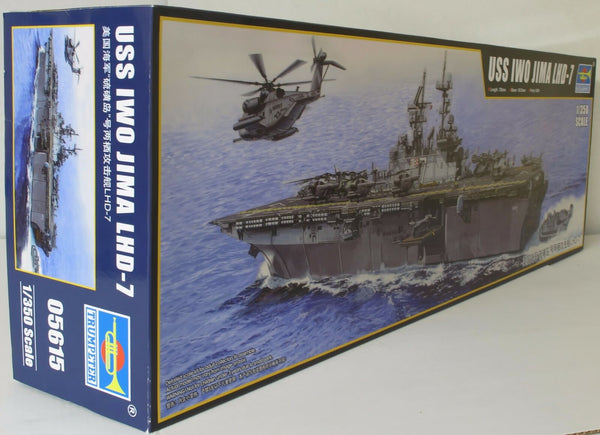 Trumpeter 1:350 05615 USS Iwo Jima LHD-7 Model Ship Kit