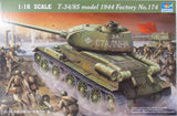 "Trumpeter 00904 T-34/85 Model 1944 ""Factory No 174"" Model Military Kit"