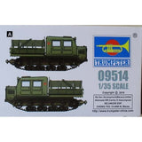 Trumpeter TRU 09514 1:35 Russian AT-S Tractor Model Military Kit