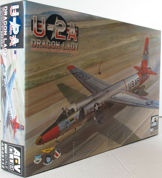 AFV Club 1:48 48112 Lockheed U-2A/B Dragon Lady Model Aircraft Kit