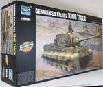 Trumpeter 1:16 00910 SdKfz 182 King Tiger (2 in 1) Military Model Kit