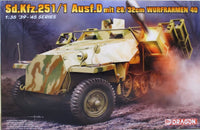Dragon 1:35 6861 Sd.Kfz.251 Ausf.D Mit 28/32cm Wurfrahmen 40 Model Military Kit