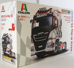 Italeri 1:24 3934 IVECO HI-WAY E5 ABARTH SHOW TRUCK Model Truck Kit