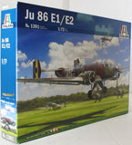 Italeri 1:72 1391 1391 JU-86 E-1/E-2 Model Aircraft Kit