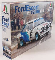 Italeri 1:24 3655 Ford Escort MKII 1979 WRC Monte Carlo Model Car kit